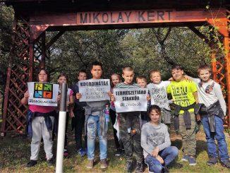 Geocaching a Mikolay kertben-2017