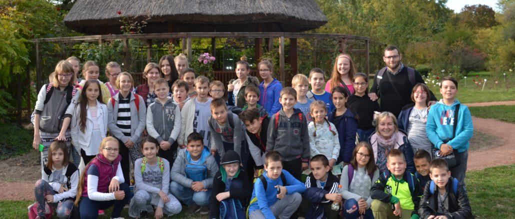Szakköri kirándulás a Szegedi Tudományegyetem Füvészkertjébe