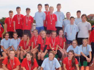 Ügyességi Csapatbajnokság Megyei Diákolimpia Döntő