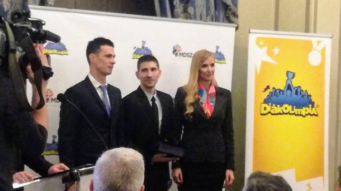 Tanév Legeredményesebb Diákolimpia® testnevelője díj 2018. január 11.