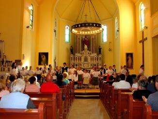 Pünkösd ünneplése 2015