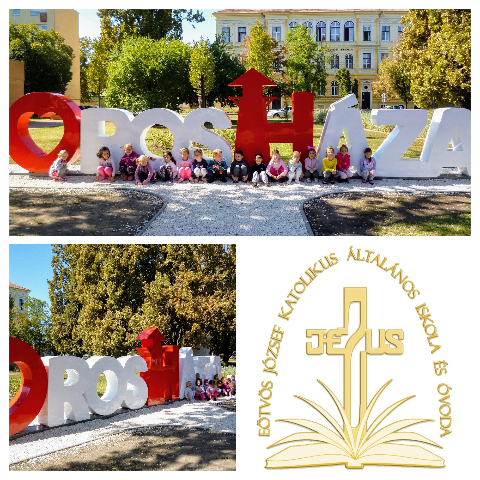 Margaréta csoport Orosháza a mi városunk Collage