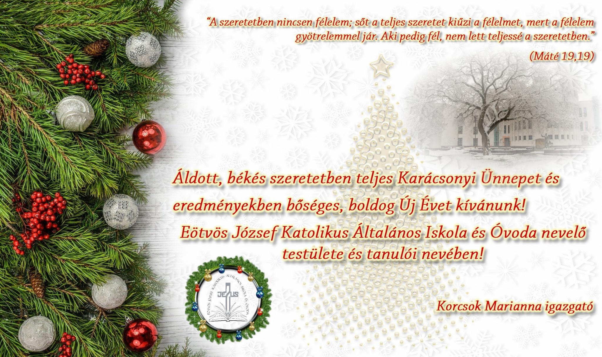 Karácsonyi Képeslap 2019