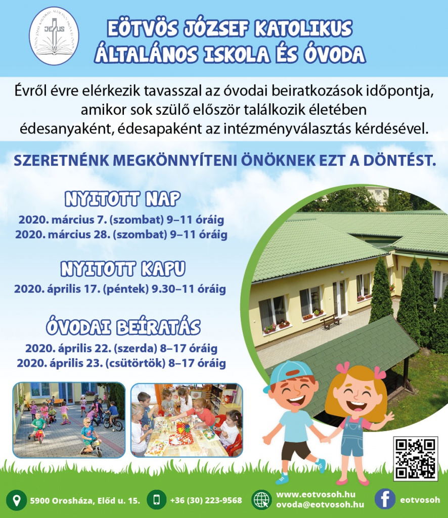 Eötvösovoda Plakát Hirdetés 20200228