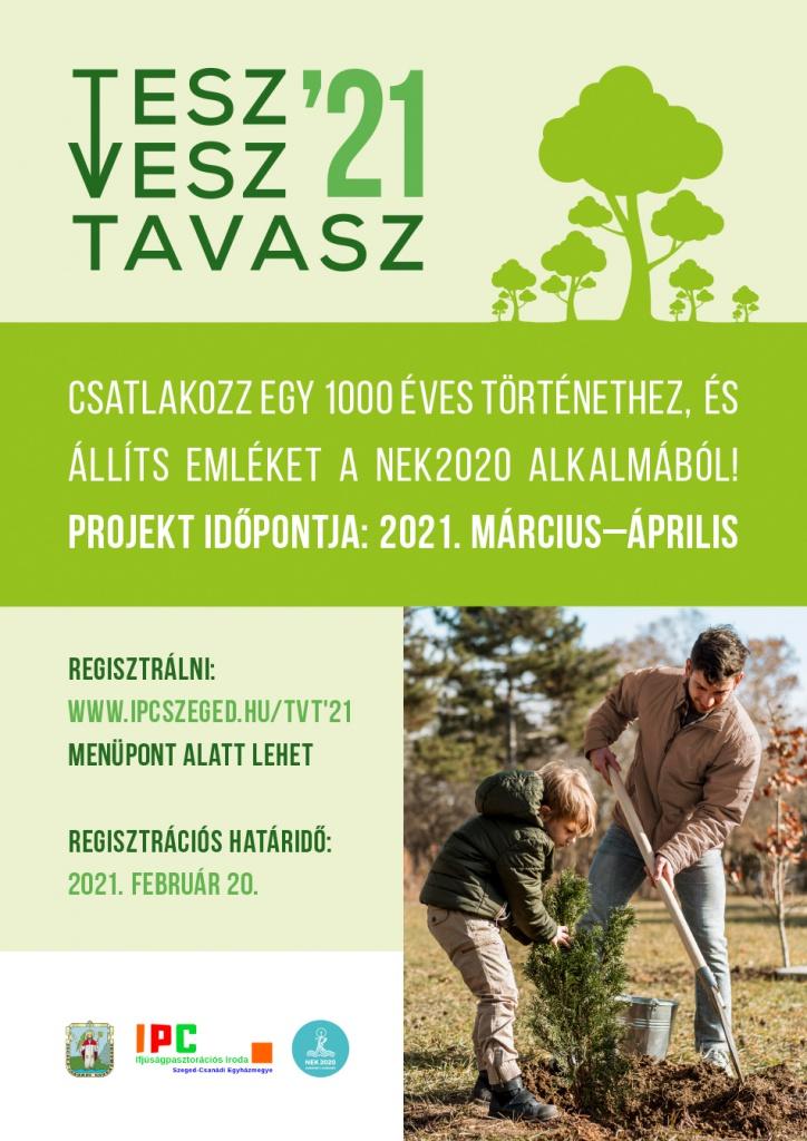tesz vesz tavasz 2021 plakat